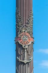 Christopher Columbus monument in Barcelona.