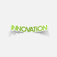realistic design element: innovation