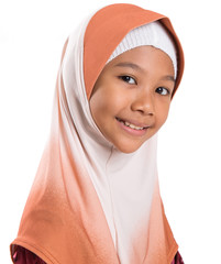 Young Muslim Girl With Hijab