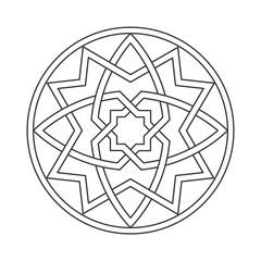 ghotic ornament motif