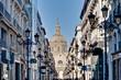 Alfonso I street at Zaragoza, Spain