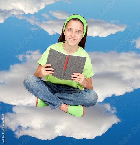 Reading in the clouds