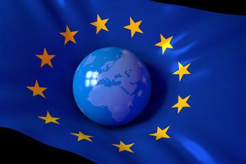Europe - Globe