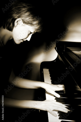 Pianist musician piano music playing.