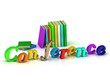 Conference - 3d word colour bright letter