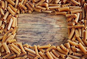 Cornice di pasta integrale