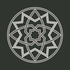 gothic ornament motif