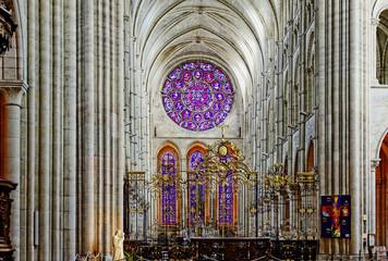 Nef de la cathédrale de Laon