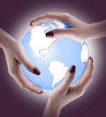 Il mondo tra le mani