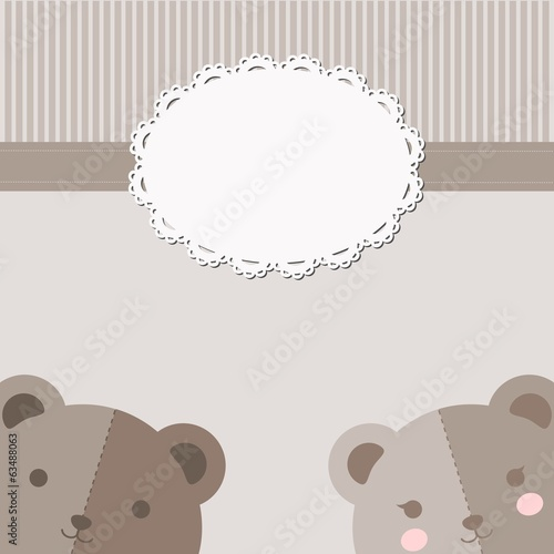 Bear Couple Card