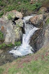 Cascada en arroyo de Rocasa, Sauceda, Hurdes, España