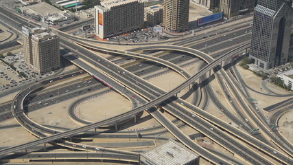 Dubai highway junction