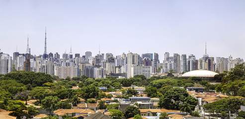 Amazing Sao Paulo Skyline, Brazil - Latin America