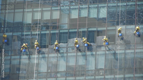 High-rise window cleaners