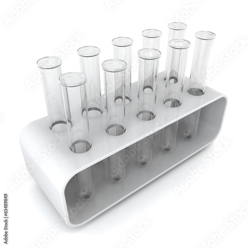 Test tubes in holder