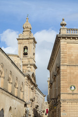 Carmelite Church in Mdina, Malta
