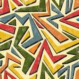 Fototapety Absract graffiti seamless pattern. Vector