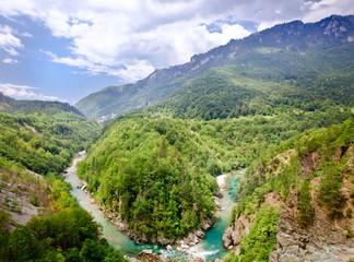 mountain landscape, Montenegro
