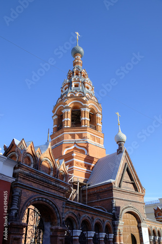 Church of the Presentation of the God (Sretenskaya). Yaroslavl,