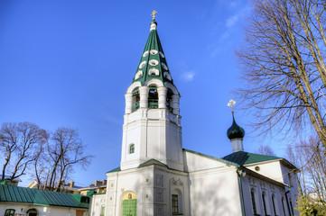 Nikolskaya church. Yaroslavl, Russia