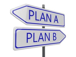 Plan A B