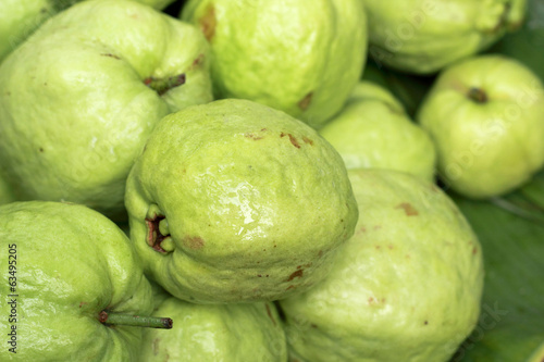 Guava fruit in the market