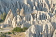 Geological formations in Cappadocia, Turkey.