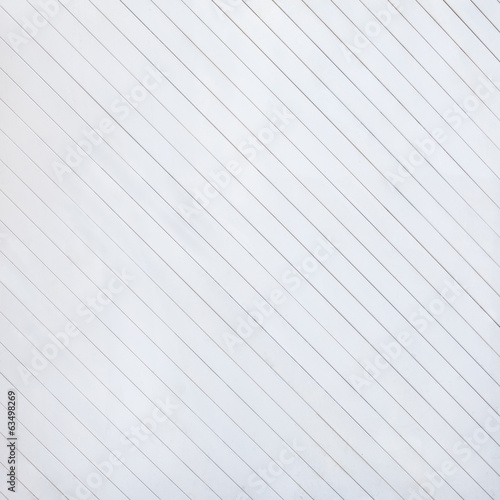 angle white wooden fence