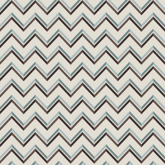 Pattern in zigzag with lines. Seamless retro vector geometric pa