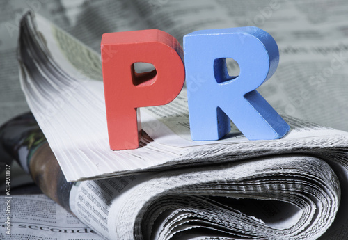 Word PR on newspaper
