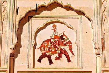 India - Jaipur - Temple Galta