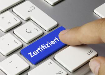 Zertifiziert. Tastatur