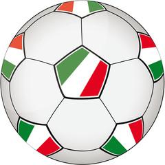 Fußball grün-weiß-rot