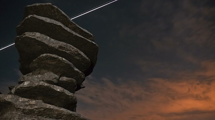 torcal night timelapse in Antequera