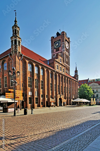 Town Hall in Torun, Poland