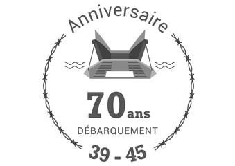Anniversaire 70 ans débarquement