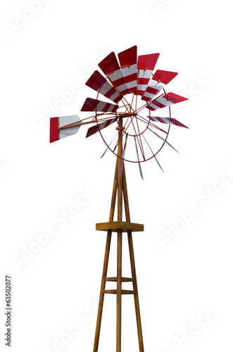 Wind turbines traditional