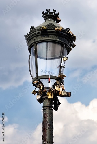 Close view from street lamp