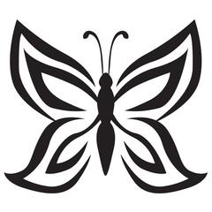 Stylized image butterfly