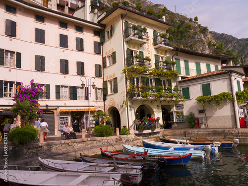 Limone on Lake Garda Iyaly