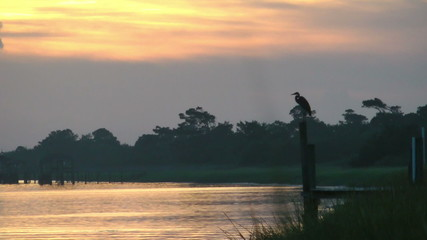 Dawn on the intracoastal waterway