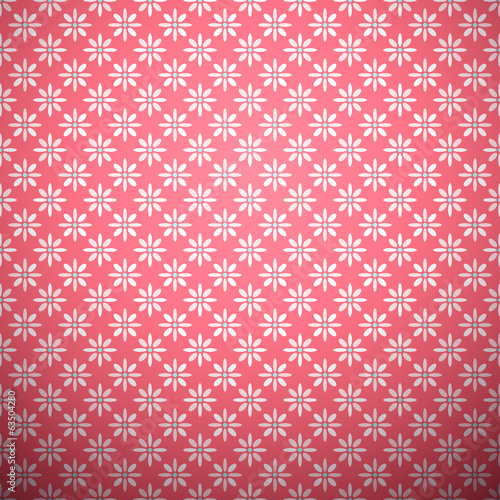 Abstract flower pattern wallpaper. Vector illustration