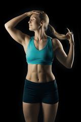 Bodybuilding lady