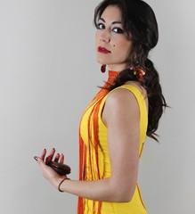 Spanish flamenco ,Vestidos de gitana