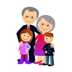 Abuelos y nietos sin fondo