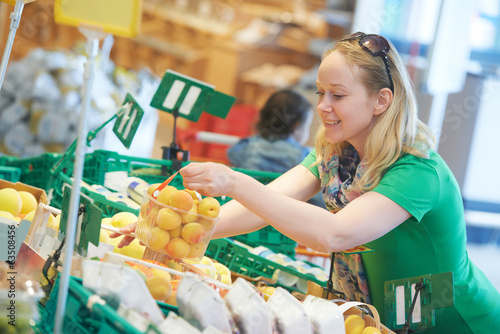 shopping woman at store