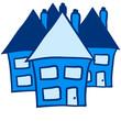 Häuser Nachbarschaft