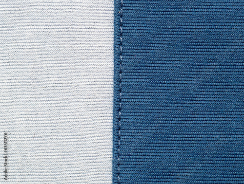 background of blue and white fabric