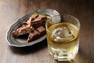 ブランデーとチョコレート