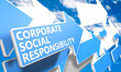 canvas print picture - Corporate Social Responsibility